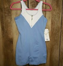 Everlast NWT Womans Boxing Leotard Bodysuit Activewear Stretch Lycra Vintage NEW