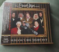 Brian setzer ,wolfgangs big night out,sealed cd jap import!