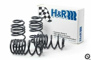 H&R Lowering Sport Springs Set Kit New for 89-96 Mercedes Benz SL320 SL500 R129