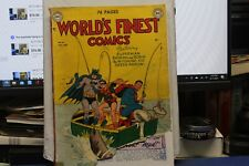 WORLD'S FINEST #43 1949 REPLICATED PAGES