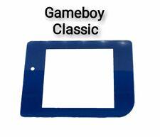 Passend für Game Boy Classic Glas Display blau Scheibe Grau LCD Linse Screen