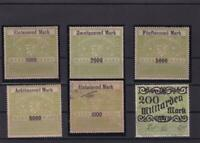 german fiscal revenue  stamps ref r14955