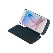 4200mAh Backup Battery Charger Black Case Cover Power Bank for Samsung Galaxy S6