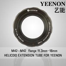 【YEENON】M42 to M42 x 11.3mm Focusing Helicoid Macro Extension Tube