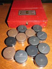 13 Bare Minerals Escentuals w/ case