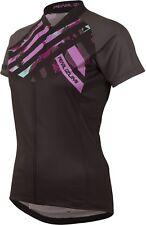 Pearl Izumi Ltd MTB Jersey Women Stripe Shadow Grey 2016 Radtrikot schwarz Pink L