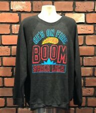 Vtg Men's Xxl Homage He's On Fire Boom Shaka Lake Sweatshirt Basketball Nba