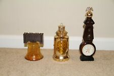 ~ Vintage Avon Bottles Liberty Bell + Casey's Lantern + Weather or Not Qty 3 ~
