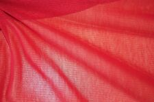 Netzstoff Netzjersey rot Meterware #0507