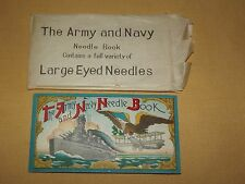 Vintage Sewing Needles The Army And Navy Needle Book