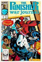 Punisher: War Journal #14 (1988 Marvel) App. by Spider-Man! Jim Lee! Unread! NM