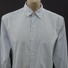 Steven Alan Mens Button Shirt Size XL Long Sleeve Cotton Striped