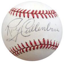 Roy Cullenbine Autographed Signed NL Baseball Tigers, Indians Beckett COA F26503