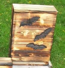 Bat Houses.Bat Box.1= LG.THREE Chamber.FIRE HARDENEDexcellent quality.HOLLEY