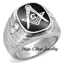 5e4564bf89 Cubic Zirconia Stainless Steel Rings for Men for sale | eBay