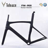 T800 Carbon Fiber Road Racing Bike Frameset+Fork+Seatpost Carbon Fahrradrahmen