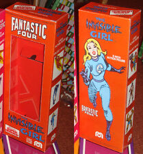 """MEGO 8"""" INVISIBLE GIRL FANTASTIC FOUR BOX ONLY"""