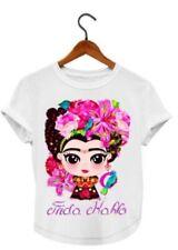 Frida Kahlo Cartoon T-Shirt (white)