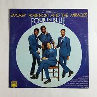 SMOKEY ROBINSON Four In Blue S297 LP Vinyl VG++ Cover VG+