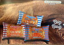 9 x Packets of Big Bag Pork Scratchings (Pork Crunch) 3 of Each Flavour