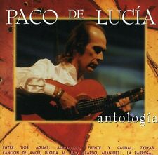 Paco de Luc a, Paco de Lucía, De Lucia, Paco - Antologia [New CD] Portugal - Imp