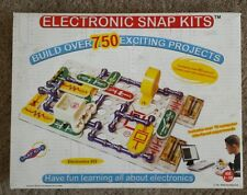 Vintage 2005 Electronic Snap Circuits 750 Exciting Projects Complete Rare Early