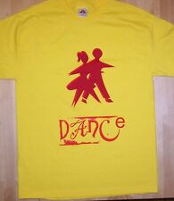 DANCE T-Shirt Large Yellow sarah field mice st christopher music records
