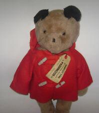 """Vintage 1975 19"""" Paddington Bear Darkest Peru to London England Eden Toys Plush"""
