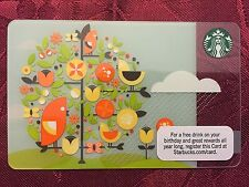 STARBUCKS Gift Card April Showers Tree of Life 2011 - FREE SHIPPING