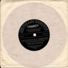 """The Stylistics LET'S PUT IT ALL TOGETHER/SING BABY SING FLEXI UK 45 7"""" SGL"""