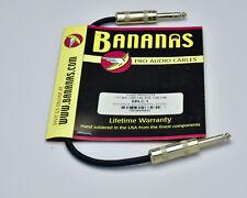 Bananas Pro Audio Cable SBLC-1 1ft BAL.Line CBL SWC 1/4S-1/4S (#3141)