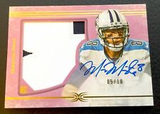 #/10 Marcus Mariota 2015 Topps Definitive Collection Pink Auto Patch RC #DC-1