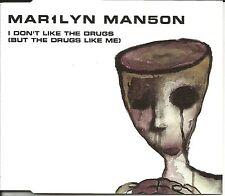 MARILYN MANSON I don't Like the Drugs w/ 2 RARE MIXES CD Single SEALED USA Seler