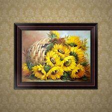 DIY 5D Diamond Embroidery Sunflower Painting Cross Stitch Art Craft Home Decor