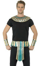 Egyptian Cleopatra Kit Belt Collar Cuffs Ladies Mens Gold Fancy Accessory Kit