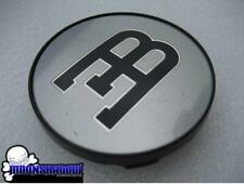 1 SINGLE GENUINE BBS BUGATTI ∃B SILVER WHEEL RIM CENTER CAP LARGE 71mm 20089