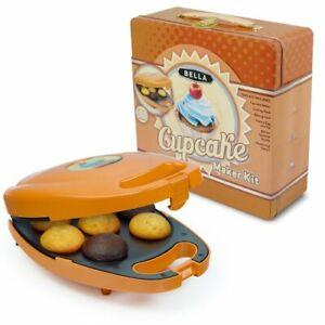 Bella Deluxe Cupcake Maker Kit Tin Storage Box ...