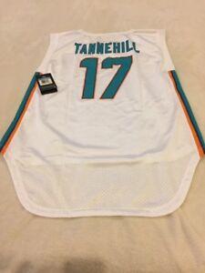 NWT Nike Miami Dolphins Ryan Tannehill Jersey Women's Size L ..$55 Sleeveless