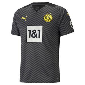 Puma BVB Auswärtstrikot Erwachsene + Flock Spielername Borussia Dortmund 2021/22