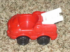 Fisher Price Little People Red Fire Truck White Ladder