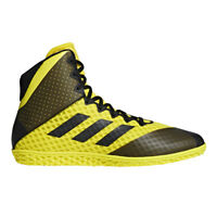 Adidas Mat Wizard 4 Men's Wrestling Shoes AC8708 - Yellow, Black (NEW) List@$129