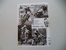 advertising Pubblicità 1977 OLIO MACH e KTM e TAIOCCHI/GRITTI/STROSSENREUTHER