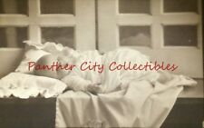 Antique Photograph Baby Sleeping Resting On Counter Lubbock Texas Studio
