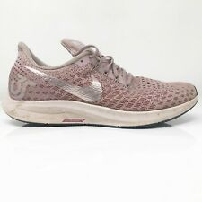 Nike Womens Air Zoom Pegasus 35 942855-001 Pink Running Shoes Lace Up Size 10.5