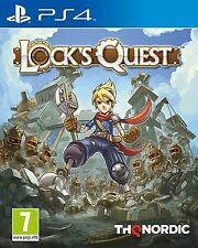 Lock's Quest (PS4) BRAND NEW SEALED PLAYSTATION 4 LOCKS QUEST