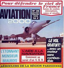 Aviation 2000 n°35- 1976 - L'aide à la navigation Comment se servir d'un V.O.R