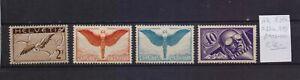 ! Switzerland 1923-1937. Air Mail Stamp. YT#A7,A10a,A11a,A15. €45.00!