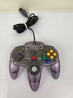 Nintendo 64 Atomic Purple Controller - OEM Official N64 - Works Great - Vintage