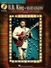 BB King Blues Legend - Guitar Styles and Techniques Tab Book and CD 000696039