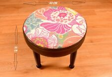 Home Fashions Wood Vintage Dollhouse Stool Beautiful Chair DN-2056